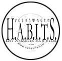 Volkswagen H.A.B.I.T.S. Los Angeles Car Club